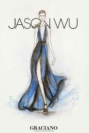 Jason Wu Fashion Illustration