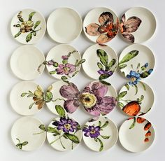 design-dautore.com: Le installazioni di piatti di Molly Hatch