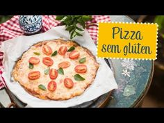 Pizza sem glúten (massa de couve flor) - O Chef e a Chata - YouTube