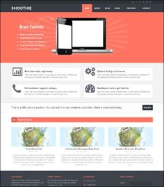 Collection of Responsive Concrete5 Themes