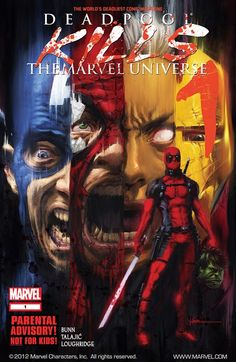 Deadpool Kills the Marvel Universe #1 - 4