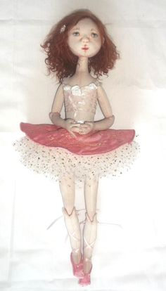 Cloth Doll Patterns by NANCY PERENNEC