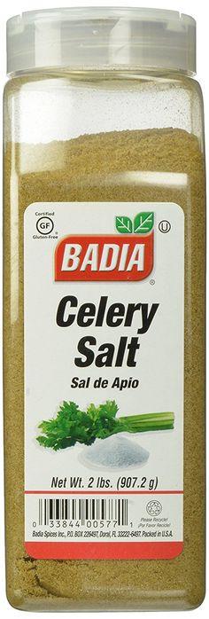 Badia Celery Salt, 2 Pound (Pack of 6) >> You can get more details at : Fresh Groceries