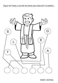 Fuente: elrincondelasmelli          Vestimenta litúrgica del sacerdote. Alba : Es una túnica blanca que cubre todo el cuerpo ha...