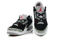 detailed look 04575 425aa Nike Air Jordan Cement 3 III Retro Mens Shoes 2012 New Fur Black Grey Air  Jordan