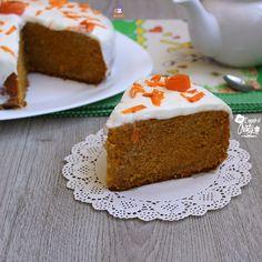 TORTA ALLE CAROTE FREDDA carrot cake