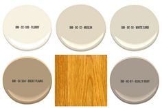 The Best Wall Paint Colors To Go With Honey Oak What to do about all that honey oak that's driving you mad? Oh, honey oak: [. Best Paint Colors, Wall Paint Colors, Room Paint, Best Wall Colors, Wall Colours, Color Paints, Light Colors, Honey Oak Trim, Staubige Rose
