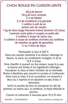 Chou rouge, pomme & raisins secs en cuisson lente_fiche