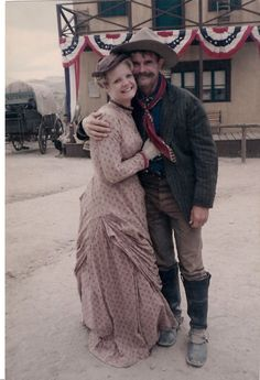 Dana Loraine and Buck Taylor ~ Tombstone