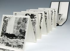 Stephen Livingstone, Artist in Durham, North East - Members Concertina Book, Accordion Book, Mountain Drawing, Chinese Landscape Painting, Book Sculpture, Sketchbook Inspiration, Book Projects, Book Journal, Journals