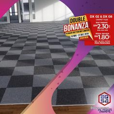 Other for sale, in Klang, Selangor, Malaysia. Hii, haven't you heard about our promotion yet? Double Bonanza is running with lowest price on o Office Carpet, Lisa Thomas, Office Environment, Contemporary Office, Best Carpet, Carpet Tiles, Have Time, Office Decor, Innovation