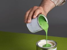 Painting tips! You can tint your primer by adding some of your wall color to the primer.