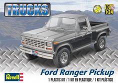 Revell Ford Ranger Pickup Box art