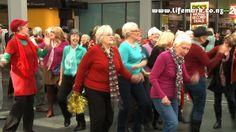The Lifemark Flash Mob: The World's Oldest Flash Mob