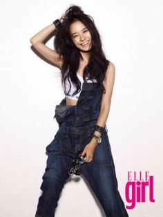 Running Man, Korean Comedy Show. She is very funny. Oh, and cute! *look like 25 but actually 32*