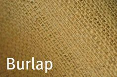 tutorial for making burlap curtains - no sewing needed!