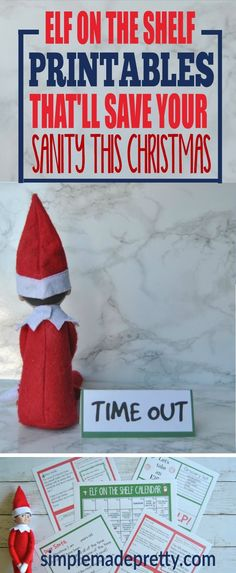 Wow! These elf on the shelf printable templates were a life saver! I could not believe how easy it was to set up our elf every night using the elf on the shelf printable notes. Our elf arrival note was so easy - just print and cut and you're done! She has tons of other Christmas printables to make this holiday season stress-free! via @SMPblog