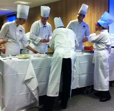 Um grande chef precisa da melhor equipe ao seu lado. Nesta noite, não foi diferente.