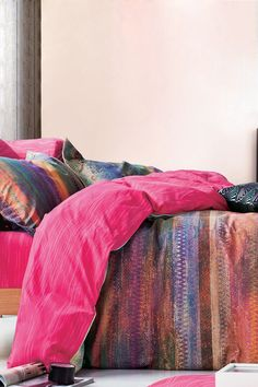 "Kaleidoscope Duvet Cover that's perfect for a ""tween"" or teenagers room."