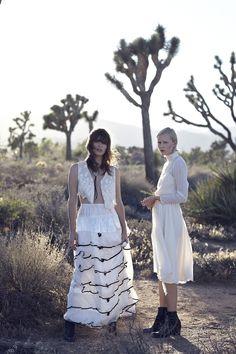 "ioncewasaunicorn: ""Even Cowgirls get the blues. Kelley Ash + Sabiene by Annie Edmonds """