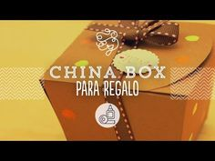China box: cajita para dulces hecha por ti   Craftingeek* - YouTube