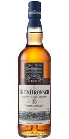 Glendronach 15 year old Tawny Port single malt whisky