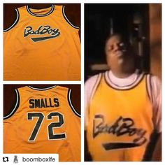 #Repost @boomboxlfe with @repostapp  Contact us to get your Biggie Smalls # 72 Bad Boy jersey #boomboxlife #boomboxliferadio #hiphop #biggie #biggiesmalls #notorious #notoriousbig #badboy #badboyrecords #readytodie #juicy #hiphopculture #hiphopclothing #classic