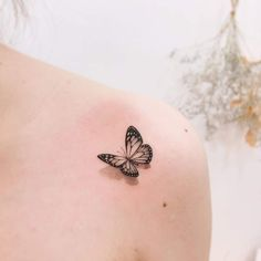 Butterfly - Transformation 4 Butterfly Tattoos For Women, Tiny Tattoos For Girls, Cute Tattoos For Women, Cute Tiny Tattoos, Dainty Tattoos, Dream Tattoos, Mom Tattoos, Pretty Tattoos, Finger Tattoos