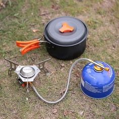 Campcookingsupplies Sports & Entertainment Boruit Mini Camping Stoves Folding Outdoor Gas Stove Portable Furnace Cooking Picnic Split Stoves Cooker Burners Great Varieties