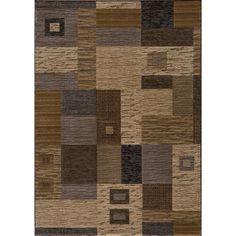 Momeni Dream Power-loomed Multi Squares Rug