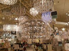Crystal  lighting Chandelier, Ceiling Lights, Crystals, Lighting, Home Decor, Homemade Home Decor, Candelabra, Light Fixtures, Chandeliers