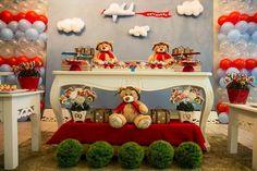 TUDO PRA SUA FESTA: Festa do Urso Aviador