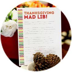 thanksgiving madlib featured image
