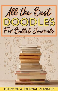 Become a doodling pro in 2021 with our ultimate list of bullet journal doodle tutorials! #bulletjournaldoodles #doodles #howtodraw