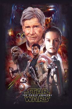 Star Wars The Force Awakens Poster Comp.... by MarkRaats on DeviantArt