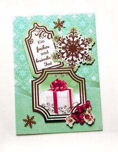 3d weihnachtskarte weihnachtsstern rot gold handgefertigt. Black Bedroom Furniture Sets. Home Design Ideas