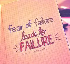 fear of failure inspirational quotes