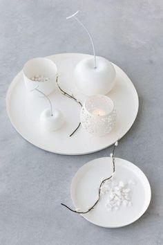 Vase Design, Tapis Design, Tiered Cakes, Decoration, Tea Lights, Candles, Interior, Home Decor, Light Blue Color