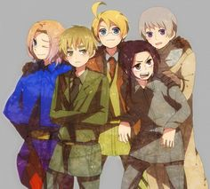 The Allies~ - Hetalia