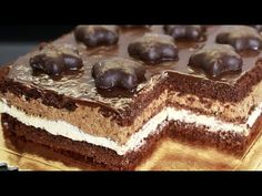 Biscuit Cake, Christmas Party Food, Polish Recipes, Cake Decorating Tutorials, Just Desserts, Cake Recipes, Food And Drink, Cooking Recipes, Sweets