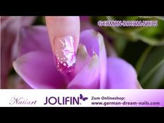 Jolifin One Stroke Flower Naildesign by GDN.de - Nr. 173 - YouTube