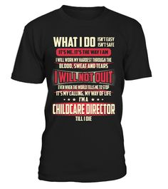 Childcare Director - What I Do