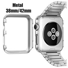 Luxury Slim Cool Armor Case For Apple Watch 38/42mm Dual Layer Hybrid Accessories SG Logo Armor Hard Back Cover Capa For i Watch