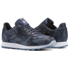 788b2863f347 Reebok Classic Leather CTE Men s Retro Running Shoes in Smoky Indigo