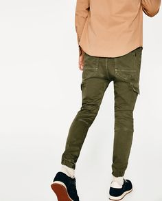 SOFT CARGO TROUSERS - Available in more colours