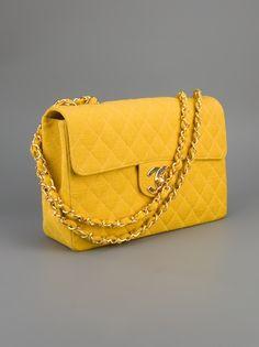 CHANEL VINTAGE - Quilted Shoulder Bag