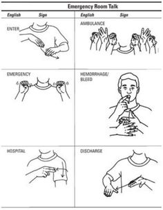 Asl sign language