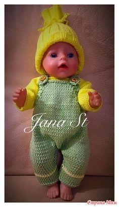 Комбинезон для Беби Борн - Одежда для кукол - Страна Мам
