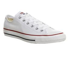 All Star Low White Canvas Shoes 93ba11b0d
