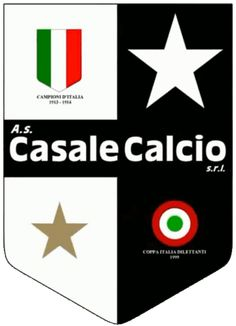 AS Casale Calcio Soccer Logo, Football Team Logos, Sport Football, Soccer Teams, Football Italy, Old Logo, Soccer World, Sports Clubs, Herb